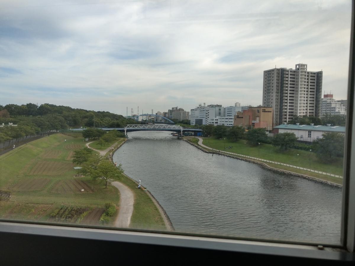 旧中川の様子