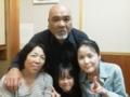 [2011帰省] お父さん・久美子おばちゃん・ひなた