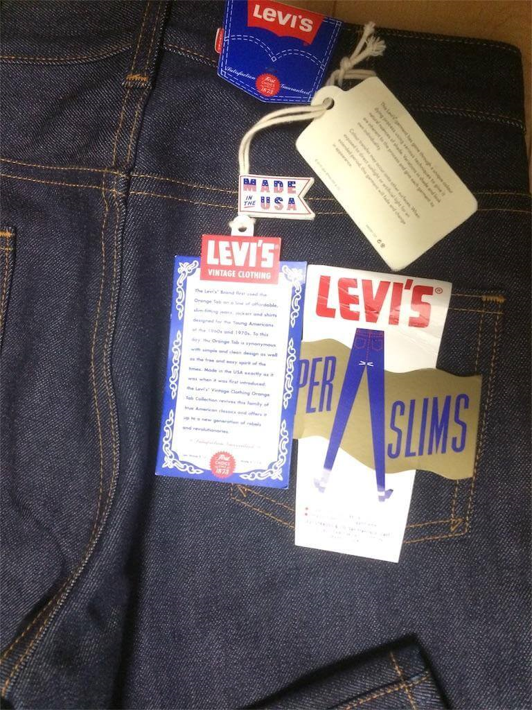 LEVI'S VINTAGE CLOTHING 1965 606 SUPERSLIM LVC606