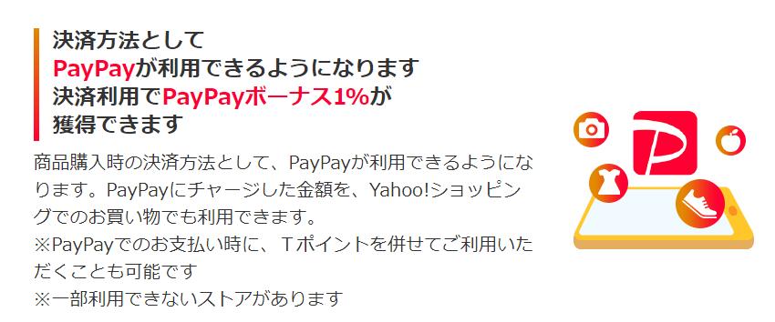 Yahoo ショッピング PayPay還元率