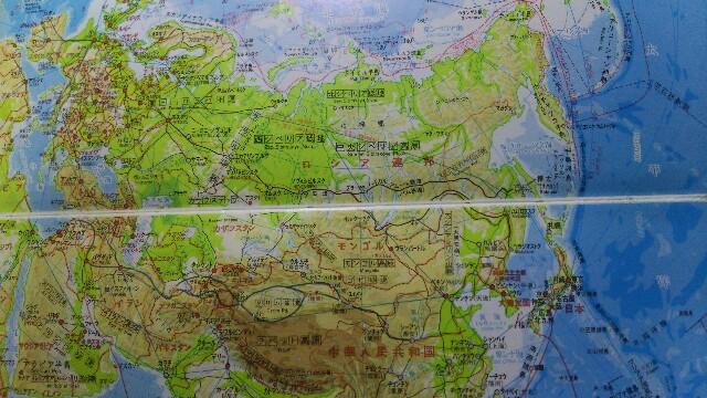 州 ヨーロッパ 州 と の 境 アジア