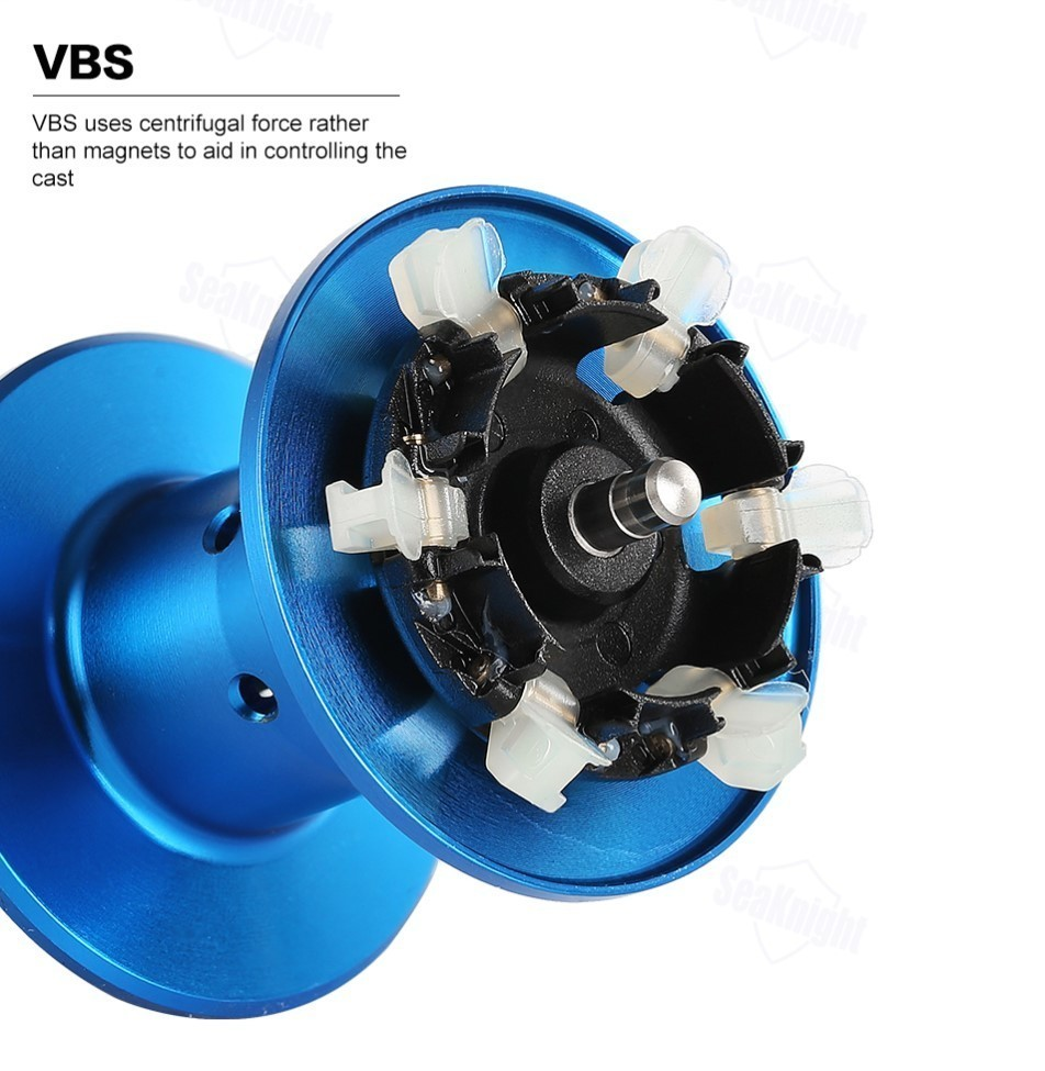 VBSブレーキユニット 6個のブレーキシューを装備