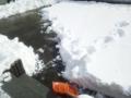雪かき初心者