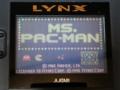 LYNX版「Ms.PAC-MAN」 写真1