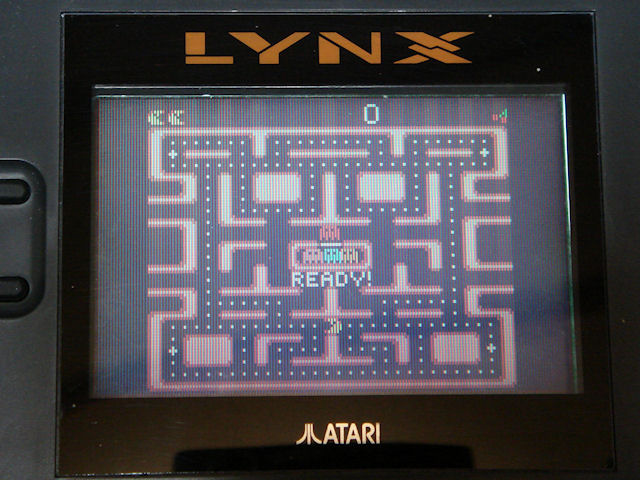 LYNX版「Ms.PAC-MAN」 写真2
