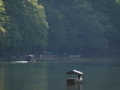 京都新聞写真コンテスト 船頭さんが聞く水の音を想像して癒される