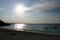 ムーンビーチを焦がす琉球の斜陽(2007年10月18日)