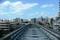 モノレール軌道と雑居ビル群(2007年10月20日、ゆいレール牧志駅にて)