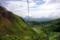 白根火山ロープウェー、中間地点付近から見下ろす(2008年8月29日)
