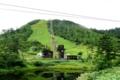 [夏の思い出2008][草津]草津白根山、夏のスキーリフトと鏡池(2008年8月29日)