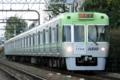 [京王]ライトグリーンの1704F(2008年12月6日、西永福〜浜田山間にて)