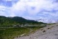 [夏の思い出2008][草津]草津白根山、湯釜からの眺望(2008年8月29日)