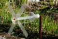 [きまぐれ×フォト]孤独に回る風車。(2009年12月23日、富水駅付近にて)