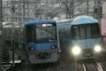 [小田急]新鋭組4059Fと60253Fの並び(2010年3月7日、読売ランド前駅にて)