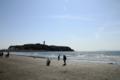 [きまぐれ×フォト]のどかな春の海岸...(2010年3月30日、江ノ島にて)