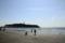 のどかな春の海岸...(2010年3月30日、江ノ島にて)