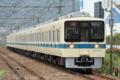 [小田急]8260F、更新後初めての定期検査出場(2010年6月13日、開成駅にて)