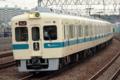 [小田急]今年度も5000形(5258F)が検査通過!(2010年4月24日、狛江駅にて)