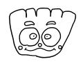 クリームパンダちゃんのイラスト