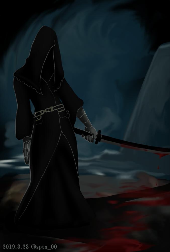ヤーナムの影(刀)