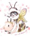 [MHW]春の宴仕様のオトモ&プーギー