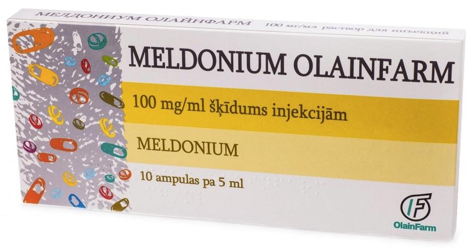 画像:オラインファーム(OlainFarm)社製のメルドニウム