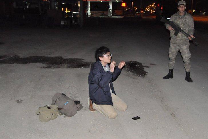 画像:拘束された日本人男性 M.M. (24)