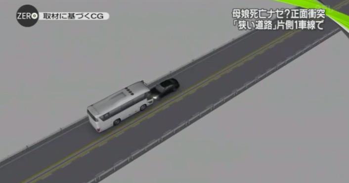 画像:事故を伝える日テレNews Zero