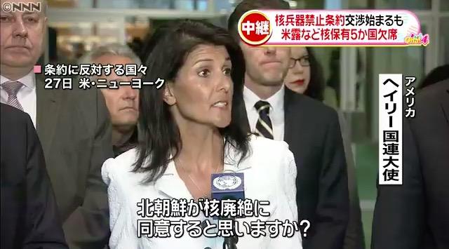 画像:ヘイリー国連大使のコメントに問題のすべてが凝縮されている