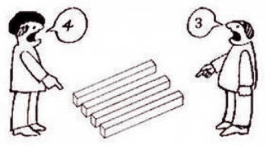 画像:立場が異なれば、見え方も異なる