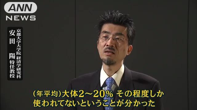 画像:報道ステーションに出演する安井特任教授