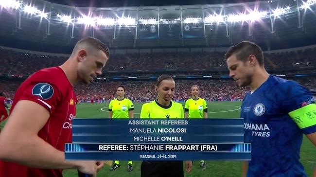 画像:2019 UEFA SuperCup