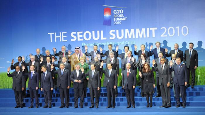 画像:2010年に韓国で行われたG20