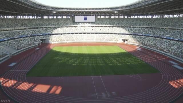 画像:新国立競技場の内観