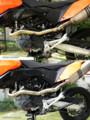 Akrapovic factory header KTM 690 SMC