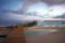 Carp Island, Palau, 2013: 台風で壊れてしまったカープ島の桟橋
