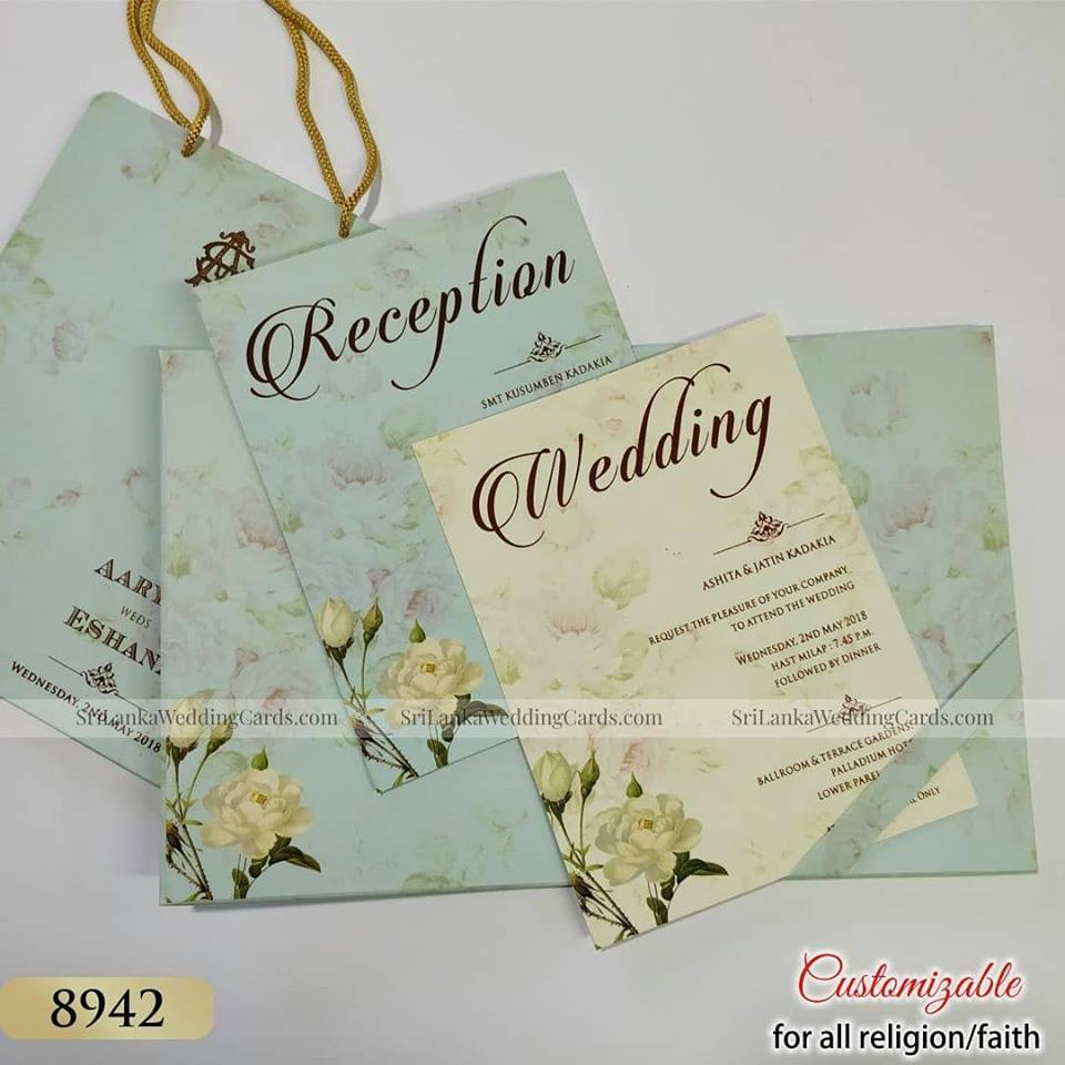 SriLanka Wedding Cards