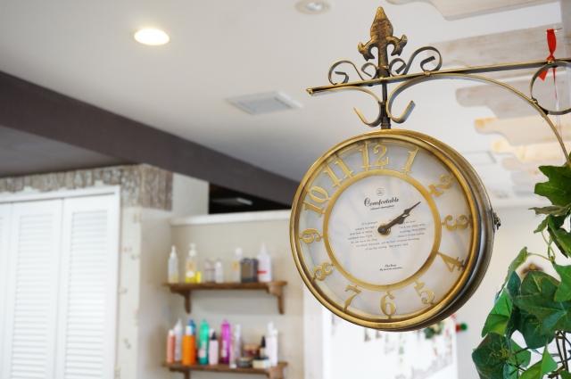 時計 タイミング 時間