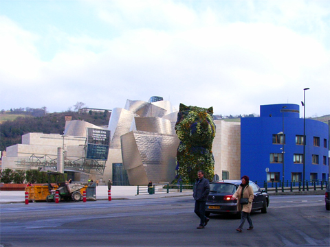 個別「ビルバオ・グッゲンハイム美術館2」の写真、画像 - うしのはな写真集