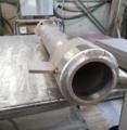 半自動溶接ステンレス鋼パイプ綺麗な溶接ビード