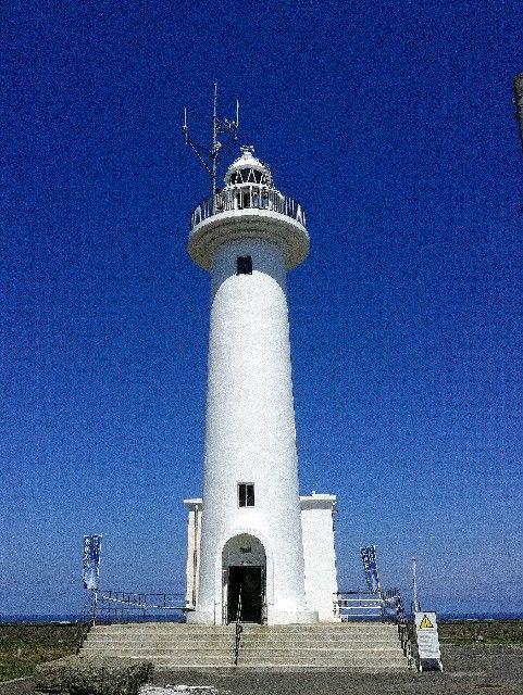 八戸市鮫角灯台の溶接ビード