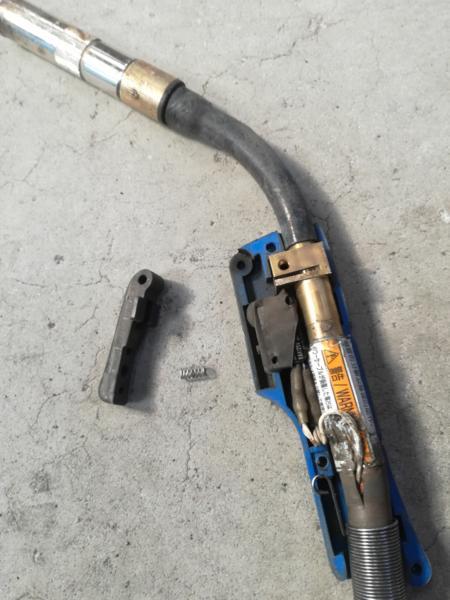 ダイヘン製ブルートーチのマイクロスイッチ交換