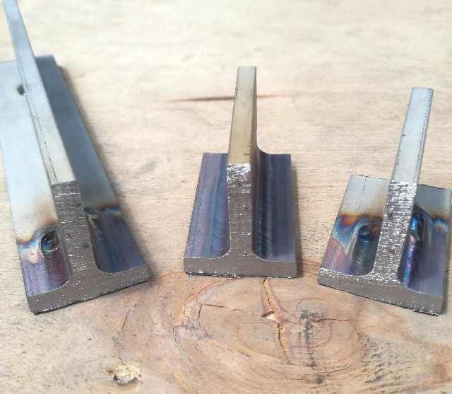 TIG溶接ステンレス鋼溶け込み画像
