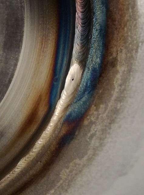 ステンレス配管溶接欠陥
