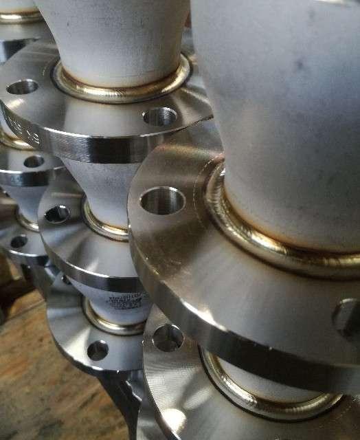 TIG溶接ステンレス鋼パイプとレジューサ