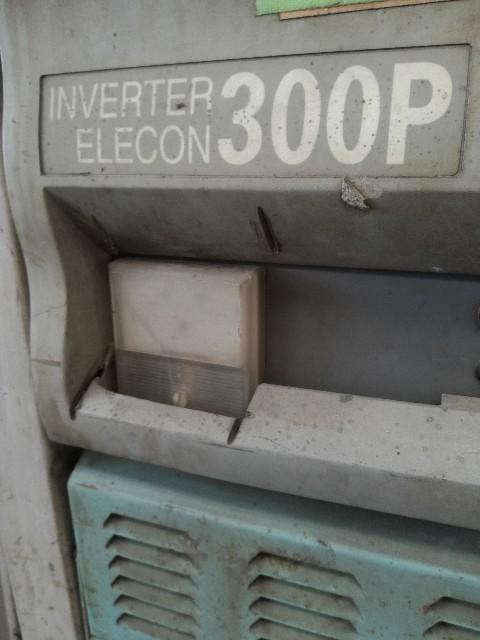 ダイヘン製ティグ溶接機でアルミを溶接