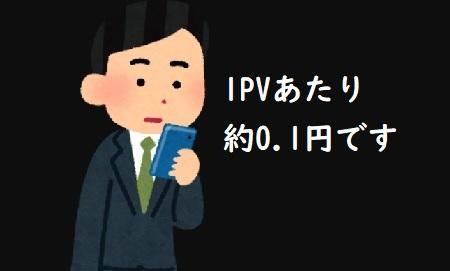 1PVあたりの単価