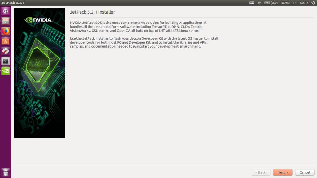 Jetson TX2 Developer Kit でJetPackのセットアップ - yukimemo
