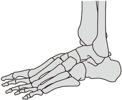 足首外側の痛み