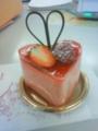 苺ババロア